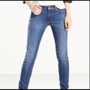 Levi's 421 ultra low skinny jeans